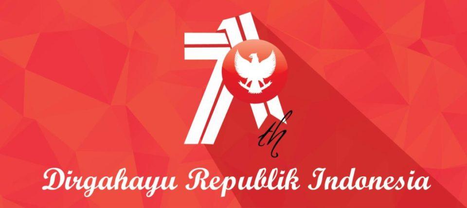 DIRGAHAYU REPUBLIK INDONESIA KE-71